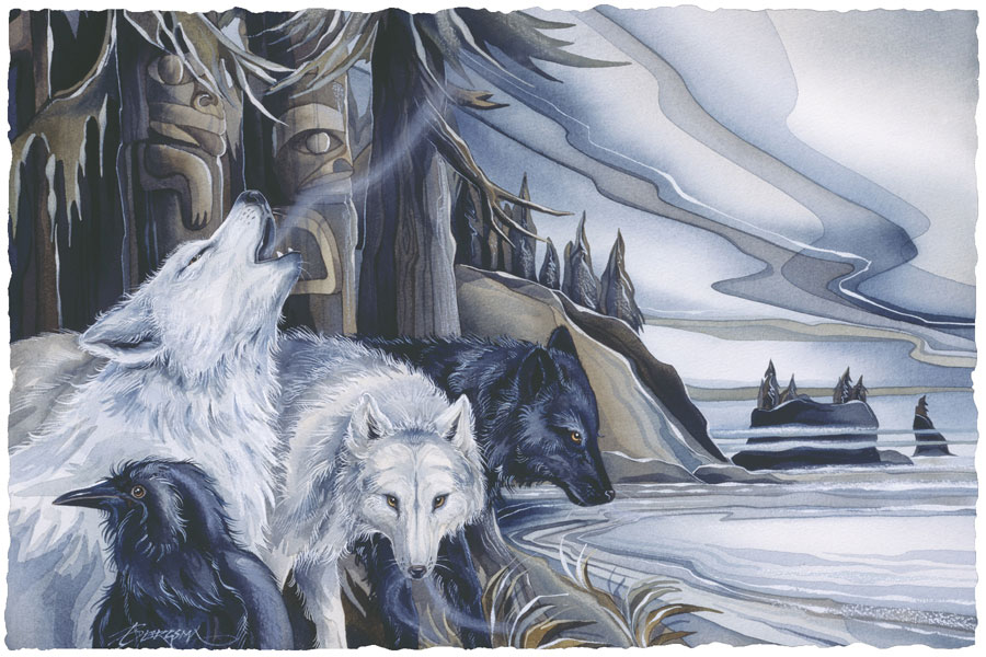 Wolves / Wolf Clan - Art Card