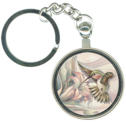 Hummingbirds / Spead Your Wings... - Key Chain
