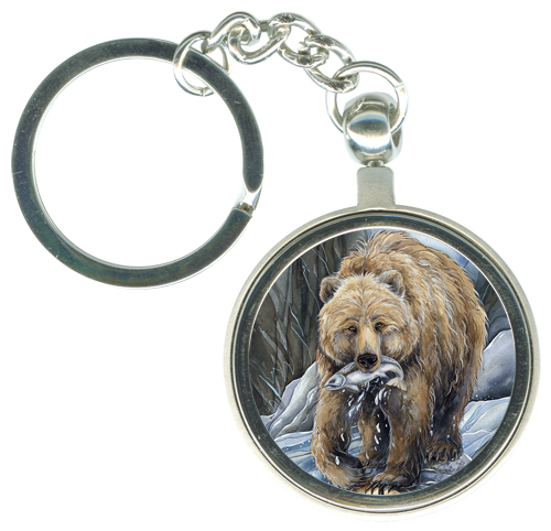 Bears (Grizzly) /Bear Clan - Key Chain