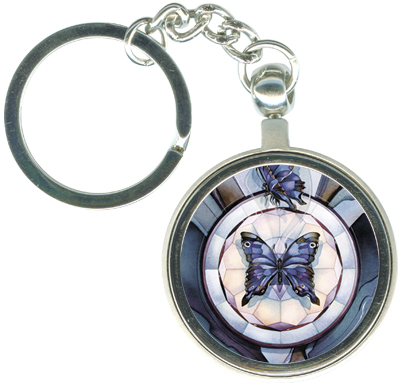 Butterflies / The Butterfly Within - Key Chain