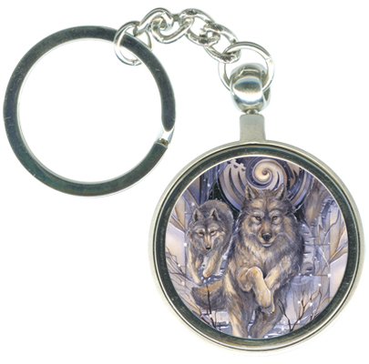 Wolves / The Power Of A Dream - Key Chain