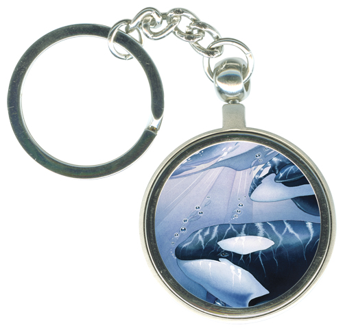 Whales (Orca) / The Pod Squad - Key Chain