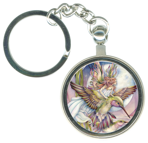 Faeries / Amid Hummer's Night Dream - Key Chain