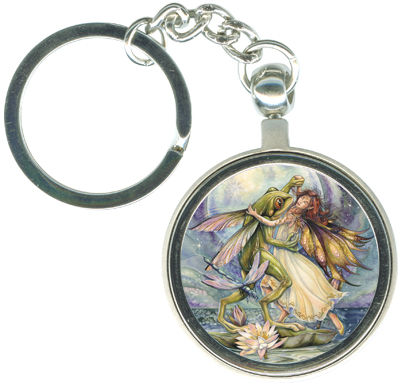 Faeries / There's Always A Reason To Dance - Key Chain
