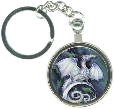 Dragons / Touch The Moon, Reach The Stars - Key Chain