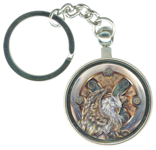 Gryphon / The Courage Inside Us... - Key Chain