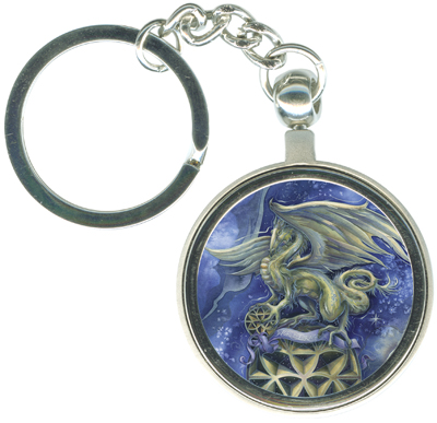 Dragons / Make Your Life Extraordinary - Key Chain