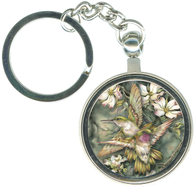 Hummingbirds / Friendship... - Key Chain
