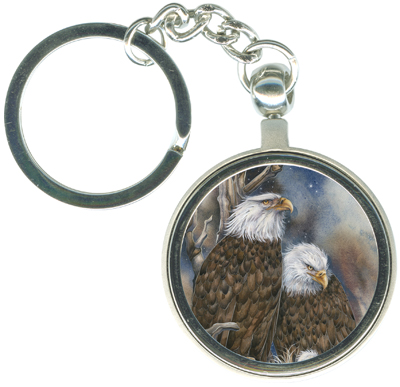 Eagles (Bald) / Safety From The Storm - Key Chain