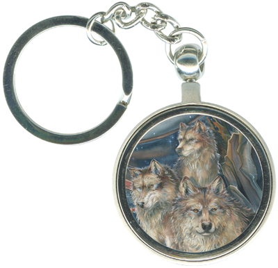 Wolves / The Pack - Key Chain