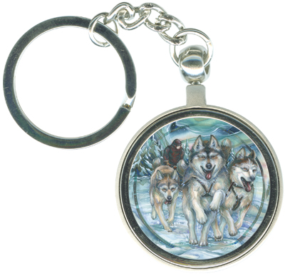 Dogs / Northern Heritage - Key Chain