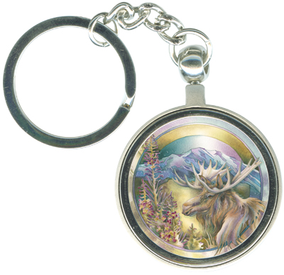 Moose / Legacy... - Key Chain