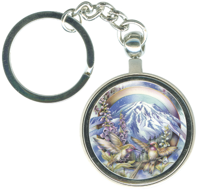 Hummingbirds / Magnificent Journey - Key Chain