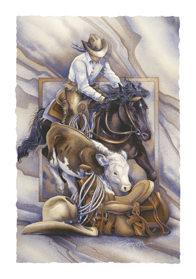 Horses / Chasin' Dreams - Art Card