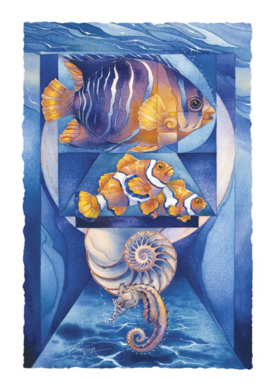 Fish (Tropical) / Sea The Perfection - Art Card