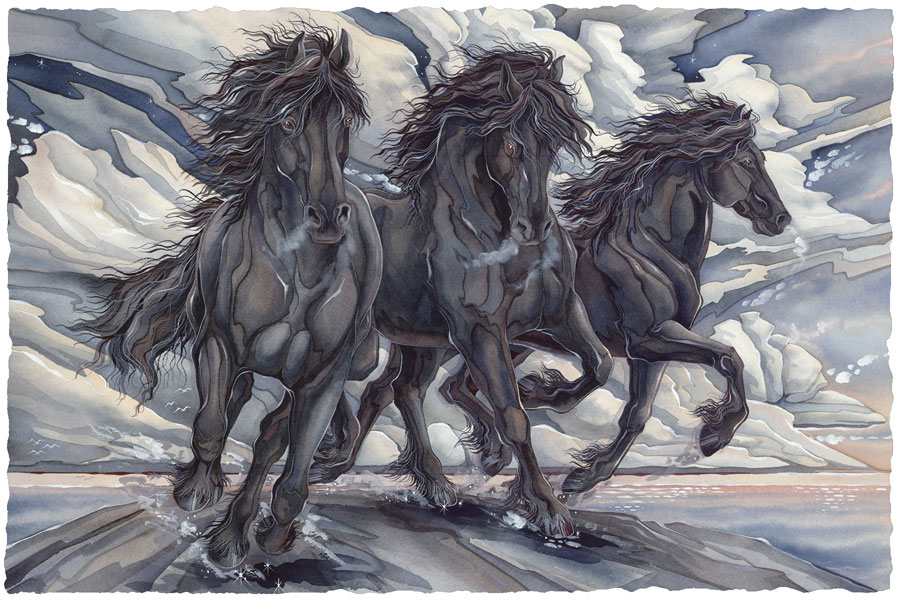 Horses / The Power Of Purpose - Art Card
