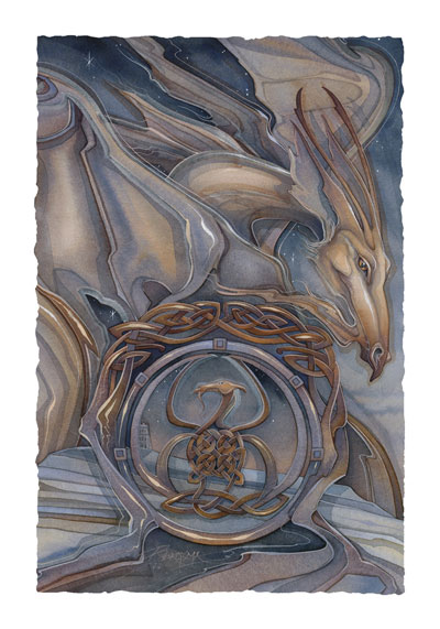 Mythological Creatures (Dragons) / Pendragon Rising - Art Card