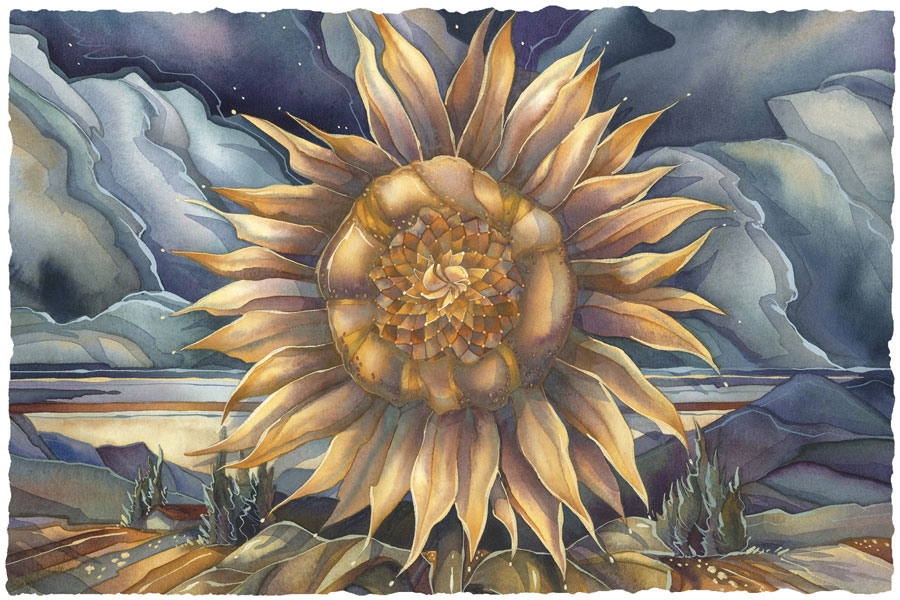 Sunflowers / Shine Like The Sun - Art Card