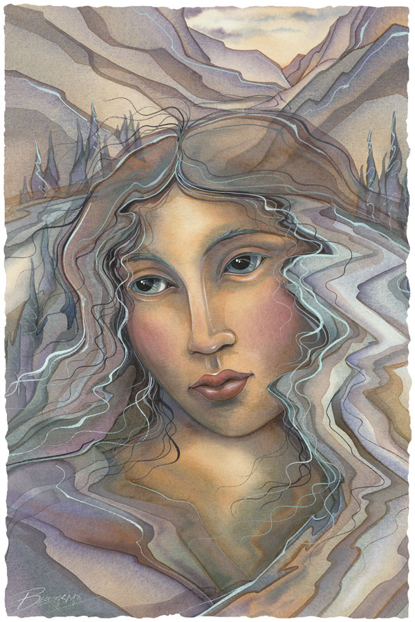River Woman - Prints