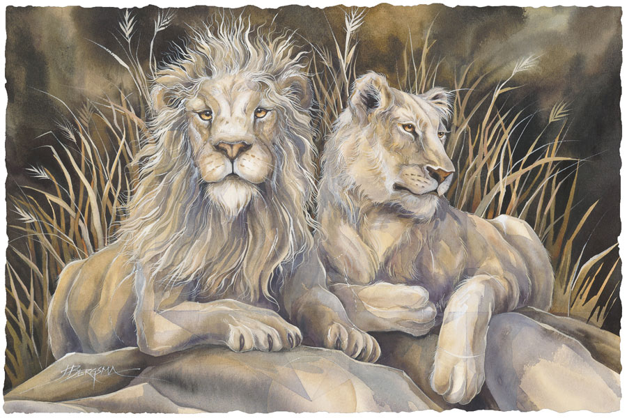 Wild Cats / Untamed Spirit - Art Card