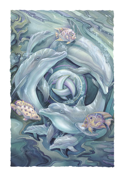 Dolphins / Dolphin Planet - Art Card