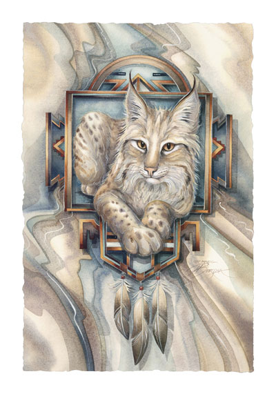Wild Cats / Cat Magic - Art Card