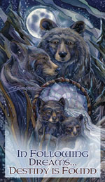 Bears (Black) / Journey To The Dreamtime - Mailable Mini