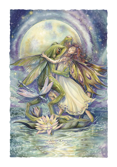 Faeries / There Is Always A Reason To Dance - Art Card