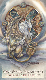 Mythological Creatures (Gryphon) / The Courage Inside Us... - Mailable Mini