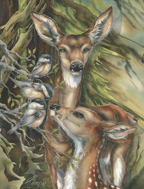 Deer / You Are So Deer To Me - Art Card