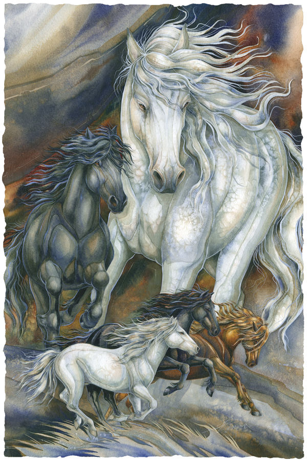 Horses / A Sense Of Freedom - Art Card