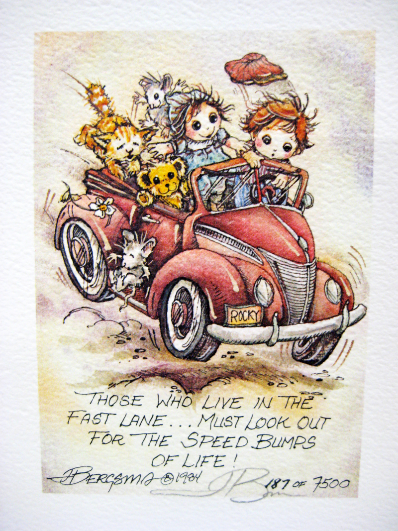 Those who live in the fast lane - DreamKeeper Print