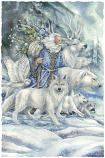 May The Cool Winds Of The North...Gather Your Friends With Love Small Prints (Click for options & image enlargement)