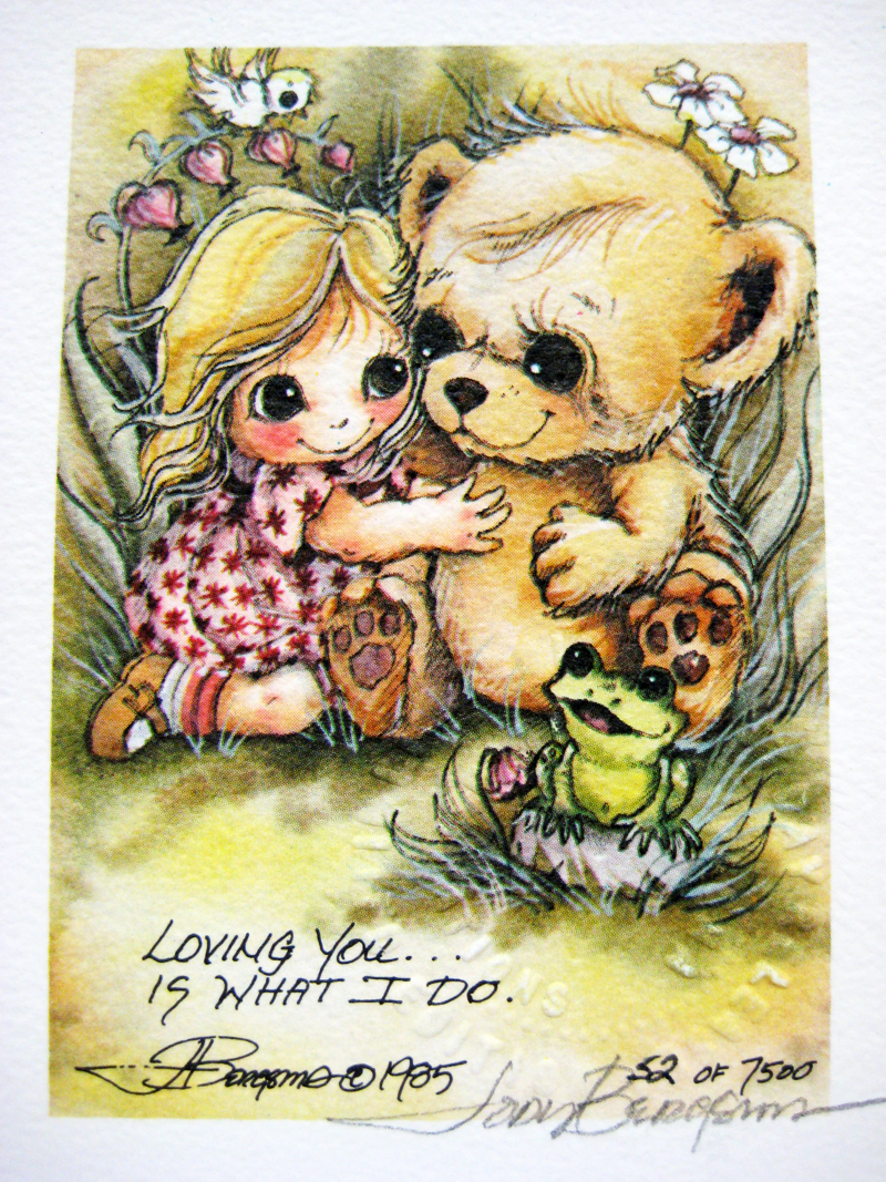 Loving you . . . - DreamKeeper Print