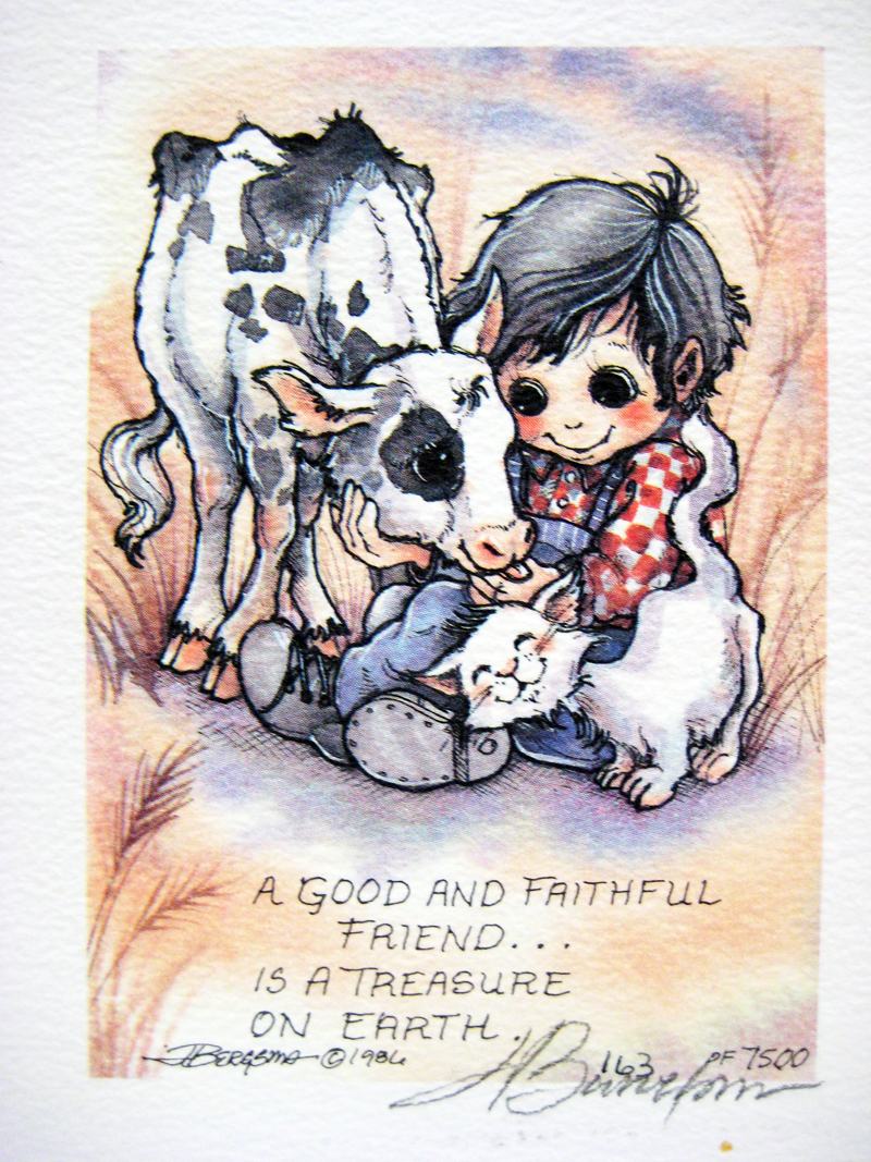 A good and faithful friend . . . - DreamKeeper Print
