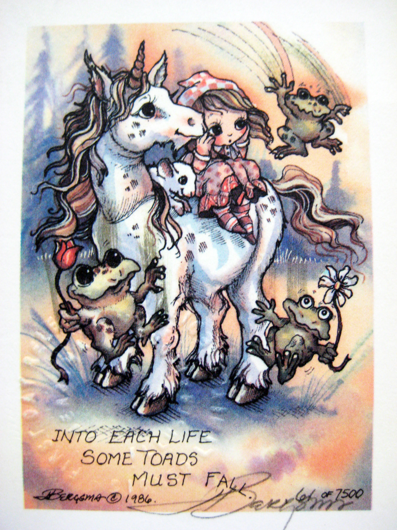 Into each life . . . - DreamKeeper Print