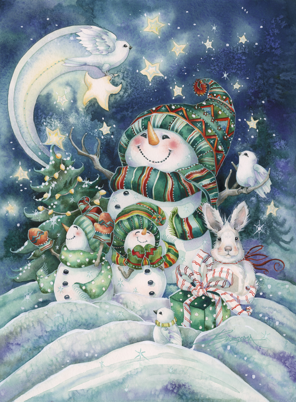 Everything Comes Alive with the Joy of Christmas - Prints