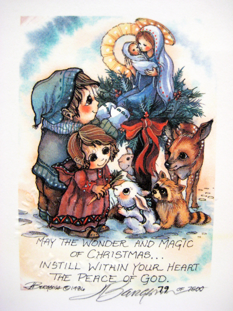 May the wonder and magic of Christmas . . . - DreamKeeper Print