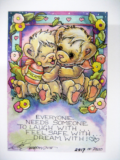 Everyone Needs Someone To Laugh With . . . - DreamKeeper Print