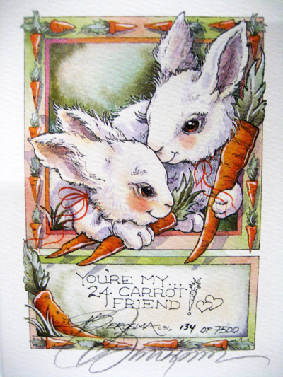 24 Carrot Friend - DreamKeeper Print