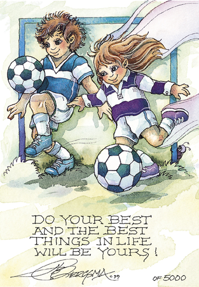 Do Your Best - DreamKeeper Print