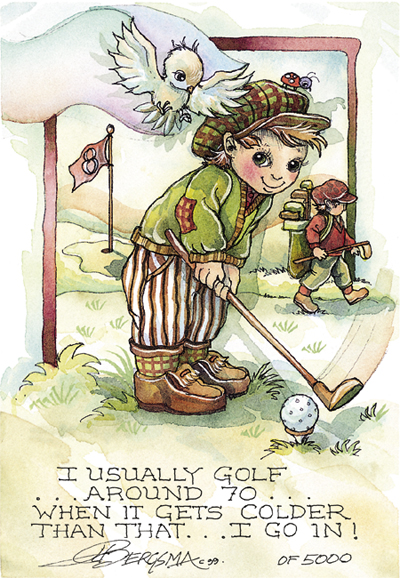Golf - DreamKeeper Print