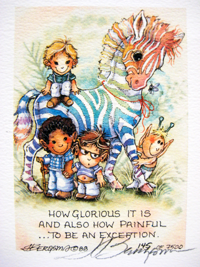 How Glorious It Is . . . - DreamKeeper Print