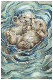 A Love Like No Otter Large Print (Click for options & image enlargement)