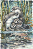 So Happy We Have Each Otter Small Prints (Click for options & image enlargement)
