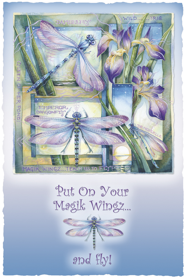 Put On Your Magik Wingz And Fly - Prints