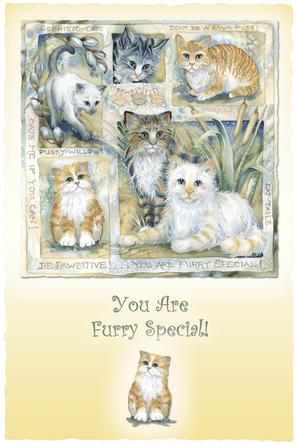 Be Pawsitive... You Are Furry Special - Prints