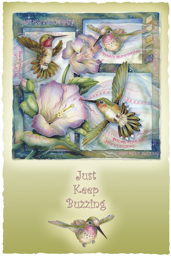 Just Keep Buzzing - Prints