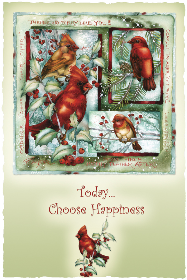 Today Choose Happiness - Prints