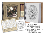 Coloring Artbook - Choose any Bergsma image for the cover!